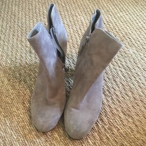 Sam Edelman Tan Suede Booties